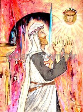 Holy Light (120x90) 750 euro