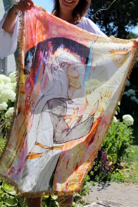 Sjaal Holy Light (102x77 cm)