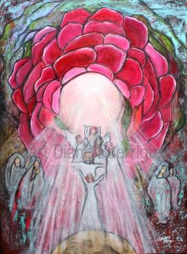 Rose of Light (120x90 cm) 888 euro
