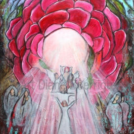 Rose of Light (120x90 cm) 888 euro