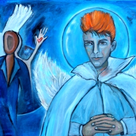 David Bowie in Heaven (opdracht)
