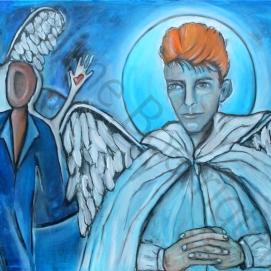 Bowie in Heaven (80x100)
