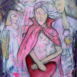 Keeper of the Heart (113x83) 600 euro